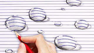33 SIMPLE 3D DRAWINGS YOU CAN MAKE YOURSELF