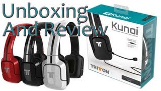 """""""Tritton Kunai Headset"""" (Unboxing and Review)"""