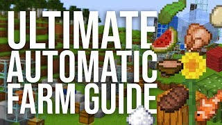 13 Essential And Simple Automatic Farms In Minecraft 1.15