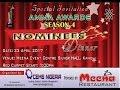 AMMA AWARD 2017 NOMINATION DINNER