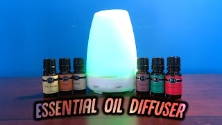 EVERY HOME SHOULD HAVE THIS! - URPOWER ESSENTIAL OIL DIFFUSER