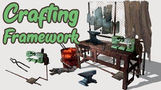 Crafting Framework - New Player Experience