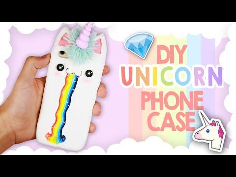 Une coque de t l phone licorne - Fabriquer une coque de telephone ...