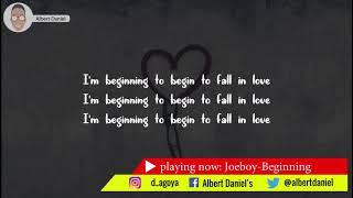 Joeboy  Beginning Official Lyrics