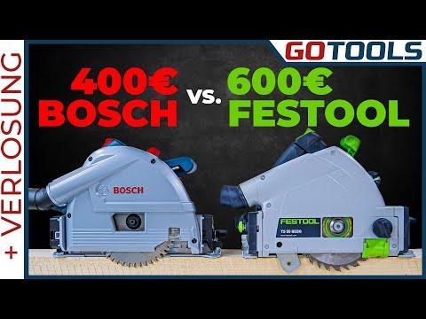 🔥 Welche Tauchsäge ist besser? Festool TS55R vs BOSCH GKT55GCE 🔔 inkl. Verlosung 🔔