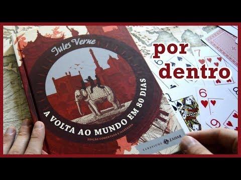 POR DENTRO DE A VOLTA AO MUNDO EM 80 DIAS (Editora Zahar) - Júlio Verne | #Lucas