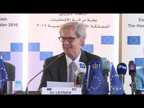 EU EOM Jordan present its preliminary statement