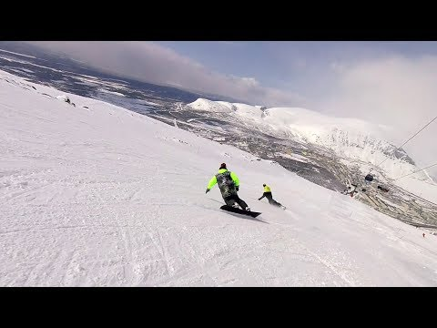 Snowboard synchronous carving with Petelki team – Day 4