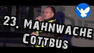 preview picture of video '23. Mahnwache für den Frieden Cottbus'