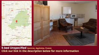 preview picture of video '5-bed Unspecified for Sale in Nontron, Aquitaine, France on frenchlife.biz'