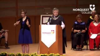 2017 NorQuest College convocation (AM)