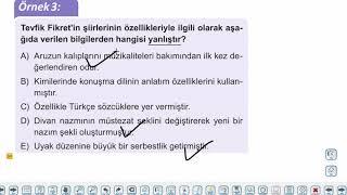 Eğitim Vadisi 11.Sınıf TDE 10.Föy Servetifünun ve Fecriati Edebiyatı Konu Anlatım Videoları