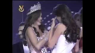 Miss Venezuela 2012 Crowning Moment