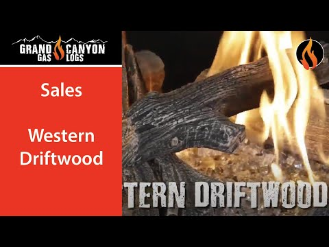 Grand Canyon Gas Logs - Western Driftwood