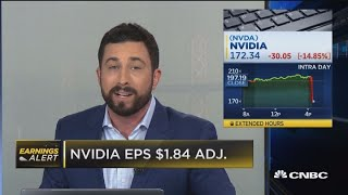 Nvidia misses revenue expectations