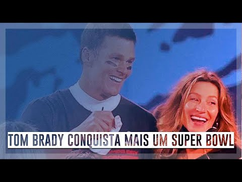 Tom Brady brilha e conquista mais um Super Bowl