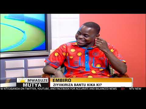 NTV Mwasuze Mutya: Embiro ziyikiriza bantu kika ki? Dr Nicholus Nanyeenya
