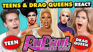Teens And Drag Queens React To RuPauls Drag Race