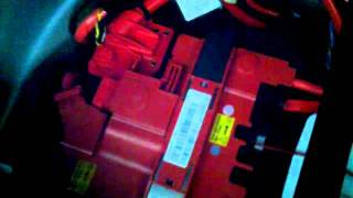 BMW 5 Series F10 Battery Replacement or Performing a Reset