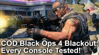 COD Black Ops 4: Blackout - Every Console Tested! Split-Screen, Graphics Comparisons + More