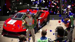 JOT381 GRAN TURISMO SPORT 280718 MONZA NC LAMBO HURACAN 1st to 1st ONLINE RACE 4 LAPS 639th WIN