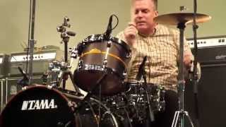 John Stanier (Battles) Drum Sound Check @ EX Theater, Roppongi, TOKYO.