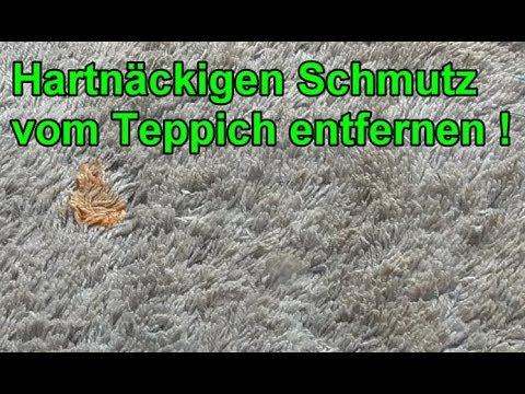 Teppich mühelos sauber machen / Teppichboden reinigen mit Backpulver – Flecken entfernen / Lifehack