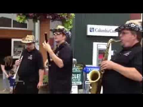 The Roadstars Jazz Band At The Washington State Fair