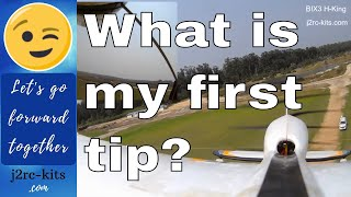 How to fly Trainer RC Plane for Beginners - Bix3 RC Plane (Bixler 3) - Beginner RC Planes Ep7