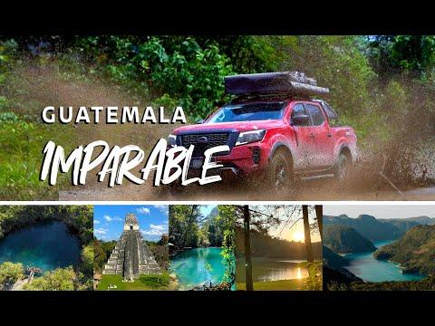 Nissan Frontier presenta Guatemala imparable