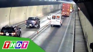 Xác định xe vượt ẩu trong hầm Hải Vân | THDT