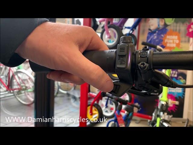 Видео Электровелосипед Haibike XDURO Adventr 5.0 i630Wh бело-сине-оранжевый