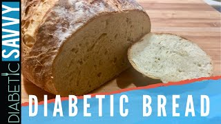 DIABETIC FRIENDLY ARTISAN BREAD | SERIOUSLY GREAT BREAD MADE AT HOME!