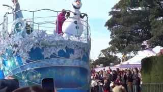 Tokyo Disney 東京迪士尼冰雪奇緣 Frozen 遊行 - 完整高清版