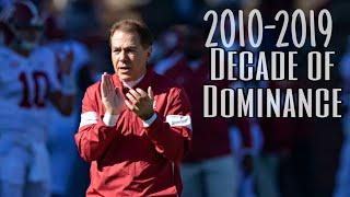 "HD Alabama Top 50 Moments ""Decade of Dominance"""