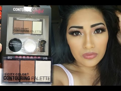 City Color CONTOURING PALETTE Contour & Perfect Review + Demo