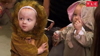The Quints' Safari-Themed Halloween Costumes | OutDaughtered