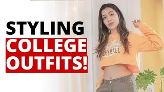 SWEET COLLEGE OUTFIT IDEAS FOR GIRLS! College Lookbook