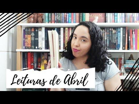 Leituras de Abril (2019) + SORTEIO   Um Livro e Só