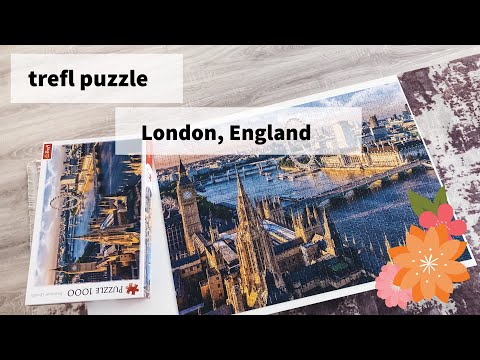 jigsaw puzzle // london, england (trefl) - 1000 pieces
