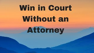 Win in Court Without an Attorney