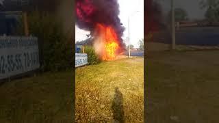 Дтп пожар 195 м5