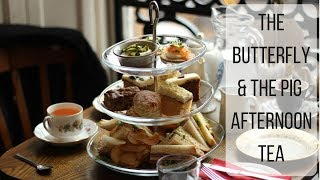 Afternoon Tea Glasgow | The Butterfly And The Pig