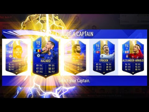 INSANE DRAFT! HIGHEST RATED PREMIER LEAGUE TOTS DRAFT CHALLENGE! - FIFA 19 Ultimate Team