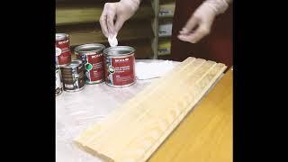 Как правильно нанести масло на деревянную основу?