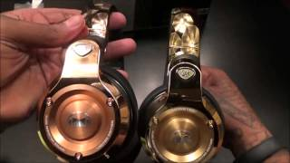Monster 24K Rose Gold Professional DJ-style headphones