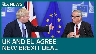 UK and EU agree to new Brexit deal | ITV News