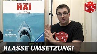 Überblick: Der weiße Hai / Jaws (Prospero Hall, Ravensburger 2019)