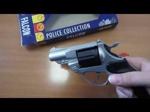 Револьвер полицейского Фалькон игрушечный 1455 villa giocattoli