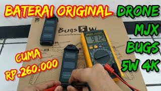 Baterai Drone MJX Bugs 5W 4K ORIGINAL